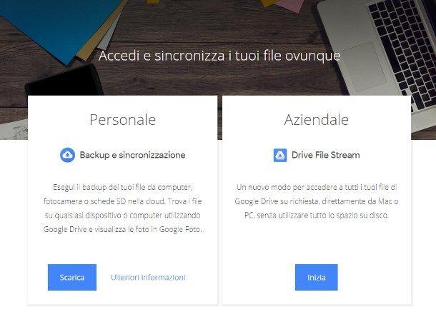 Come caricare file su Google Drive da computer