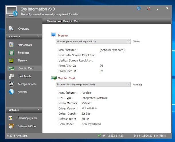 Come vedere scheda video Windows 10