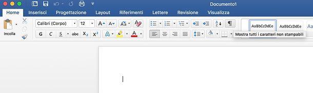 Come eliminare interruzione di pagina Word