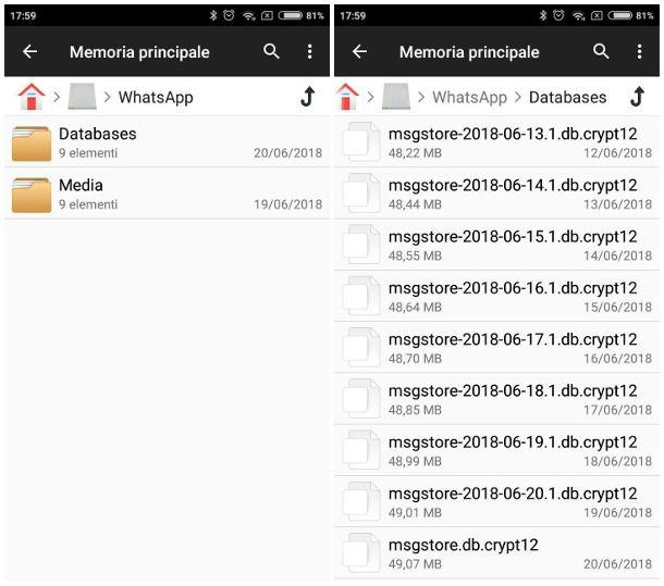 Come non perdere le chat di WhatsApp cambiando telefono Android