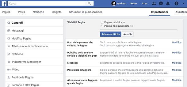 Come iscriversi a Facebook come azienda