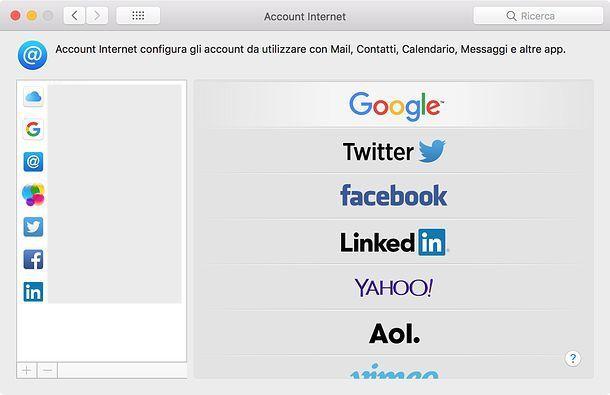 Come recuperare i contatti di Google su macOS