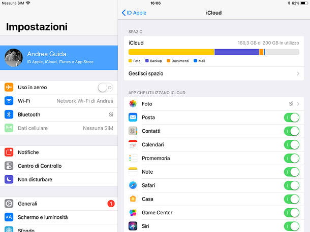 Come sincronizzare contatti iPhone con iPad