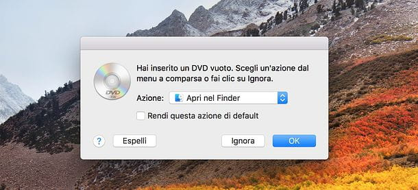 Come masterizzare con Mac