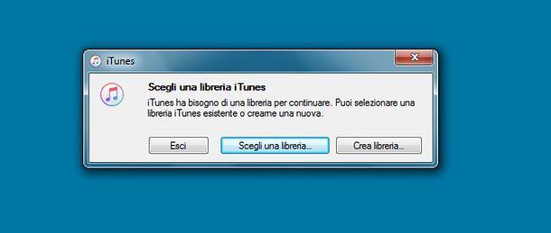 Come esportare libreria iTunes