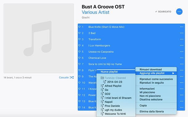 Come masterizzare CD con iTunes