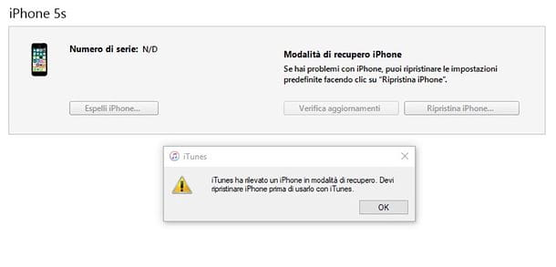Come resettare iPhone in DFU