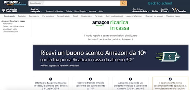 c6558bf6557192 Usare i buoni regalo e ricariche Amazon è un'altra soluzione per  risparmiare sul celebre sito di shopping online. Infatti, non tutti sanno  che oltre a farsi ...