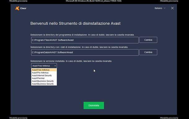 Avast Clean Antivirus Clear