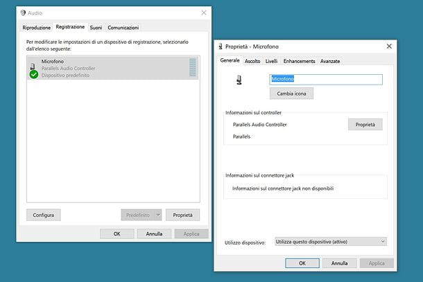 Come attivare il microfono delle cuffie su Windows