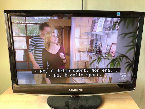 Come togliere i sottotitoli dalla TV Samsung