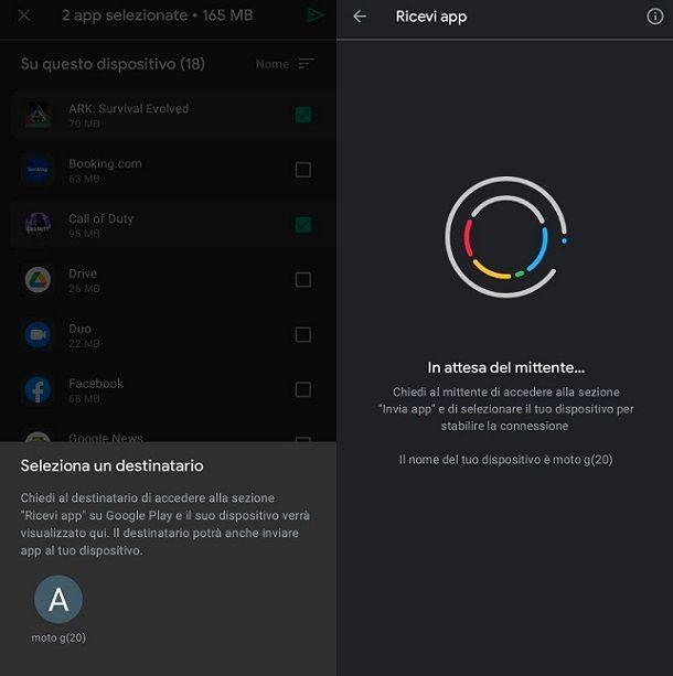 Come trasferiore un gioco da un dispositivo altro Android
