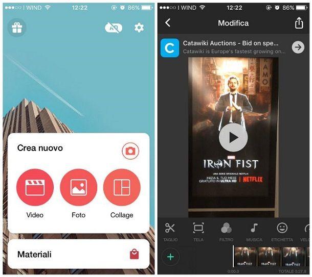 Altre soluzioni per fare video su Instagram con musica
