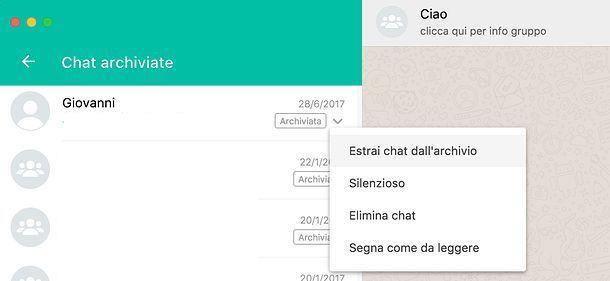 Archivio WhatsApp PC