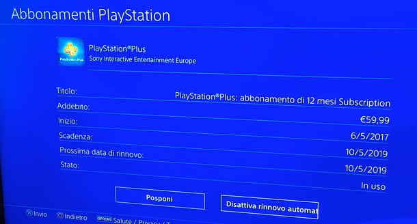 Come eliminare abbonamento PlayStation Plus