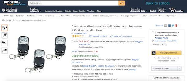 359685448ea536 ... soluzione per abbassare i costi dei propri acquisti sul celebre sito di  shopping online. Infatti, sui prodotti venduti e/o spediti da Amazon è  possibile ...