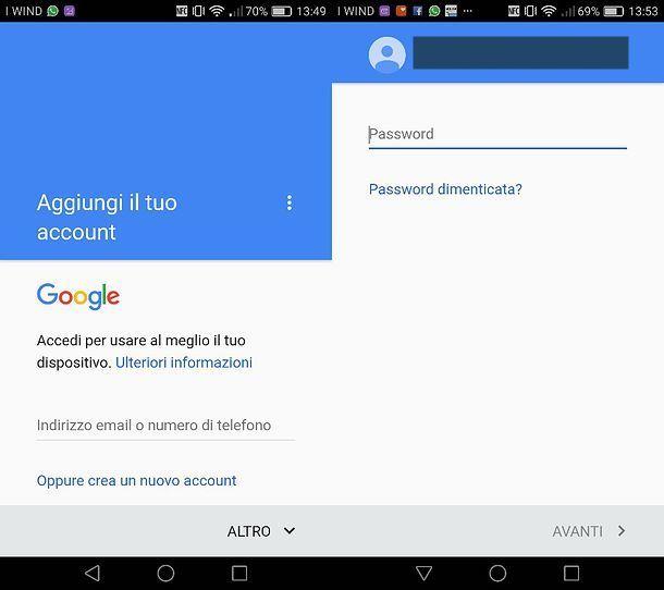 Come associare un telefono Android a Google