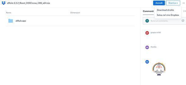 Scaricare eMule gratis su Mac