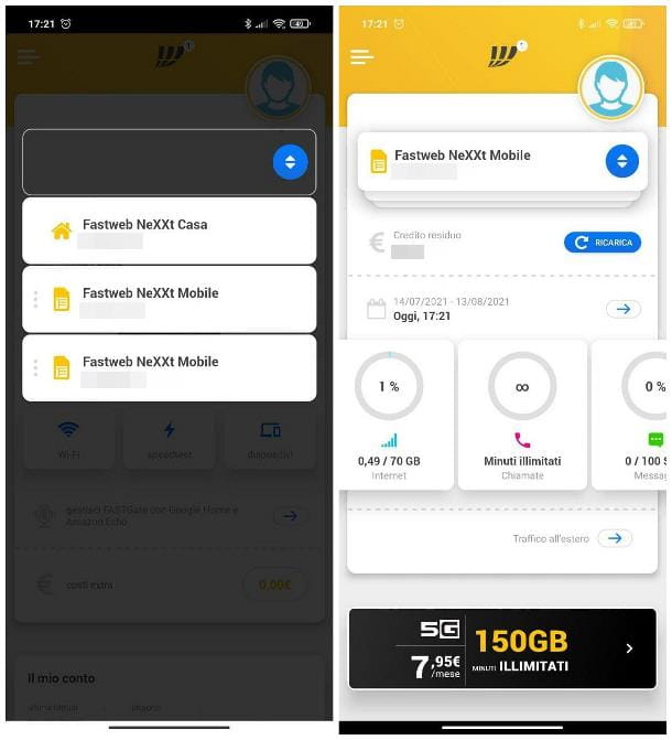 Come controllare una SIM Fastweb Mobile