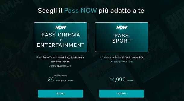 NOW pass
