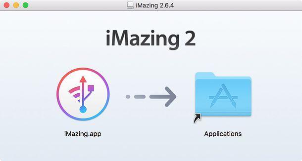 Installazione iMazing Mac