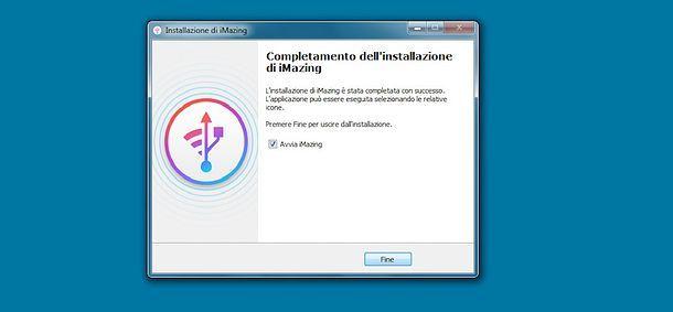 Installazione iMazing Windows