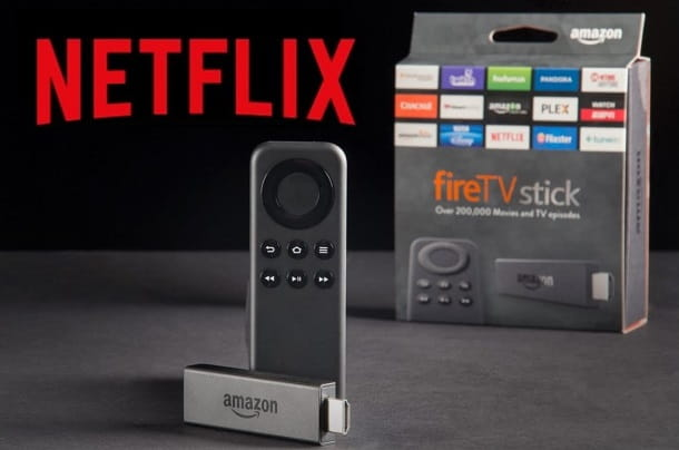 Netflix amazon Fire TV stick