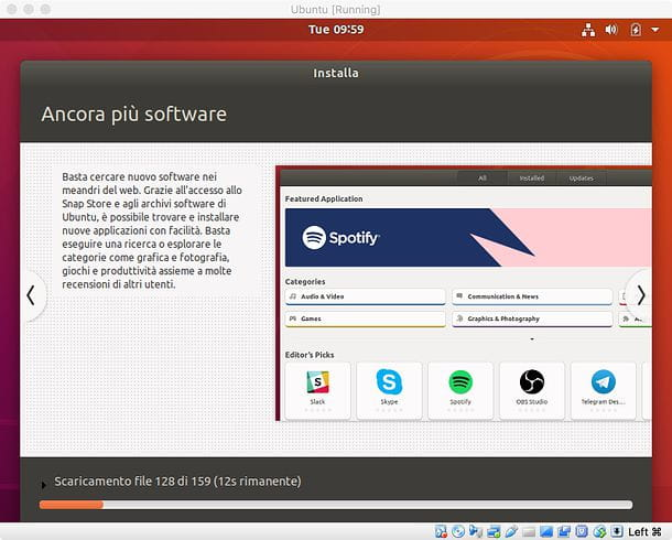 Installazione Ubuntu in VirtualBox