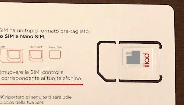 Come trovare il numero seriale della SIM