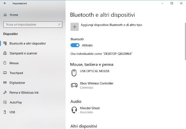 Come collegare cassa Bluetooth al PC