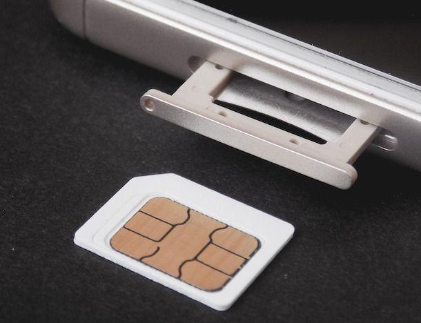 SIM smartphone