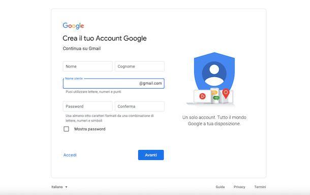 Gmail da PC