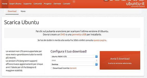 Come scaricare Ubuntu