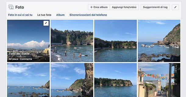 Come spostare foto da un album all'altro su Facebook