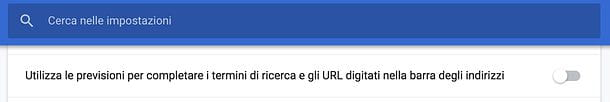 Come cancellare URL da Google Chrome