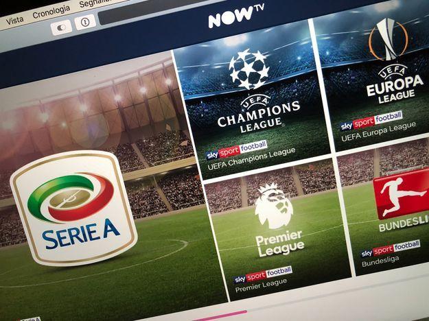 NOW TV calcio: offerta e come funziona