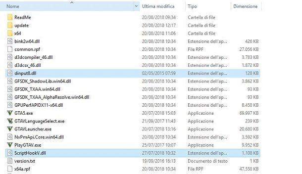 0db95fac9949 Se invece vuoi installare degli script su GTA V