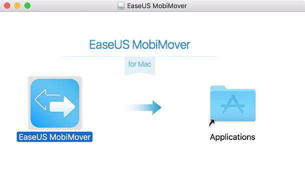 Installazione EaseUS MobiMover Free macOS