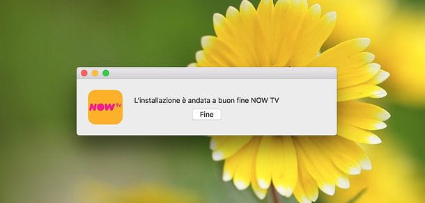 Installazione NOW TV Player su Mac