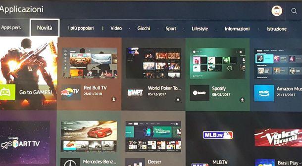 Come installare app su Smart TV Samsung