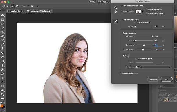 Come scontornare un'immagine con Photoshop