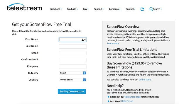 Sito Screenflow
