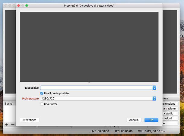 Come registrare schermo Mac