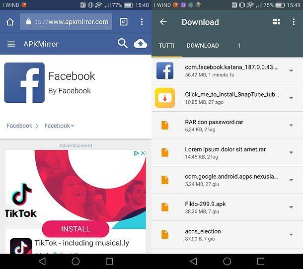 APK Facebook