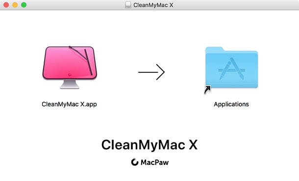 Installazione CleanMyMac X