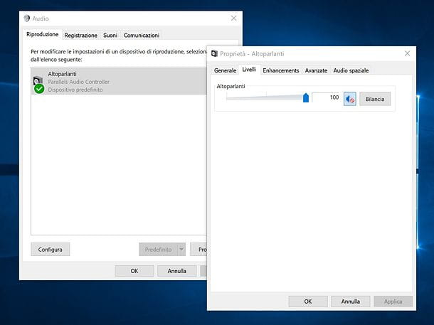 Volume di sistema su Windows