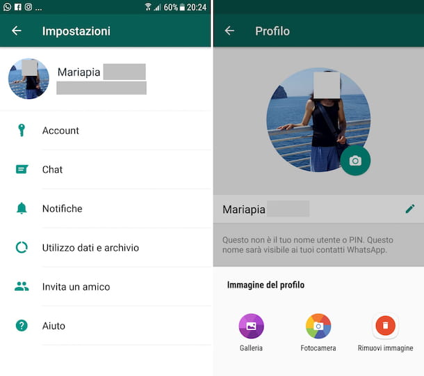 Come eliminare foto da WhatsApp