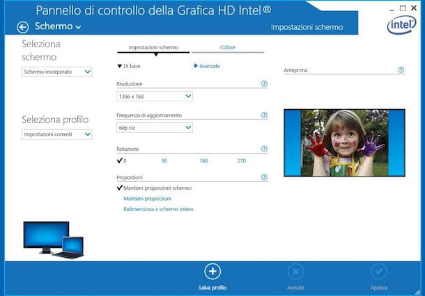 Come girare lo schermo del PC Windows 10