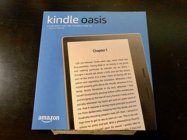 Come riconoscere modello Kindle