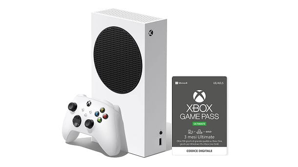 Bundle Xbox Series S Game Pass Ultimate Live Gold